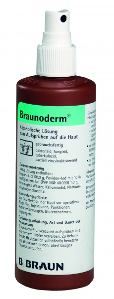 Braunoderm® nachgefärbt