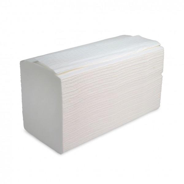 Falthandtücher Tissue weiss, 3-lagig