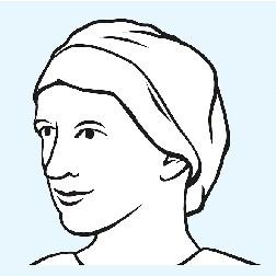 Foliodress®Cap Comfort Rondo Plus Aqua