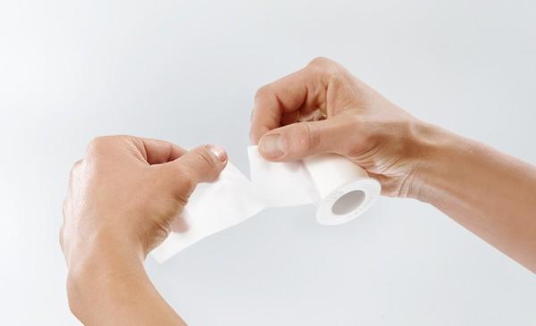 Silkafix, auf Kunststoff-Knipsspule